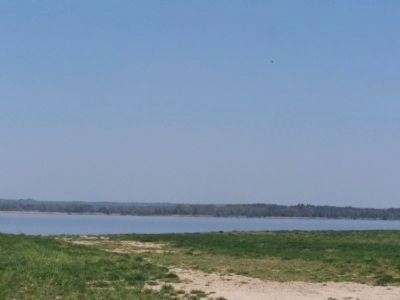 Rappahannock River near marker. image. Click for full size.