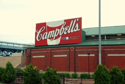 Campbell's Field Ballpark Sign image. Click for full size.