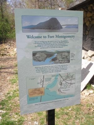 Welcome to Fort Montgomery Marker image. Click for full size.