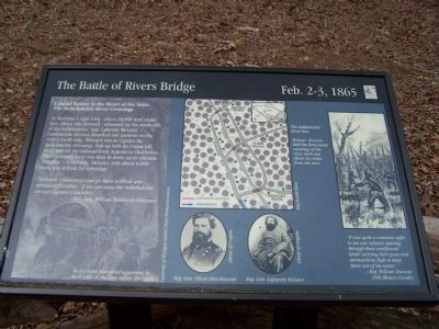 — The Salkehatchie River Crossings — Marker image. Click for full size.