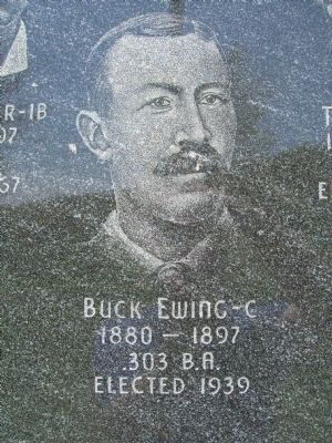 Buck Ewing - C image. Click for full size.