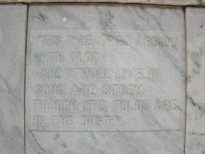 Side 2 of marker. image. Click for full size.
