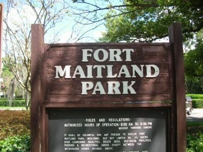 Fort Maitland Park image. Click for full size.
