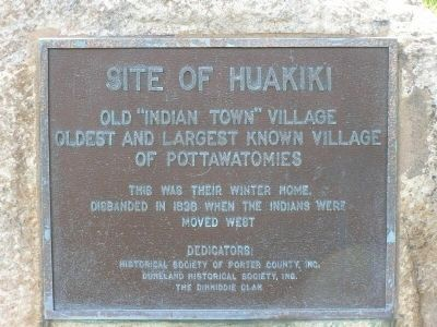 Site of Huakiki Marker image. Click for full size.
