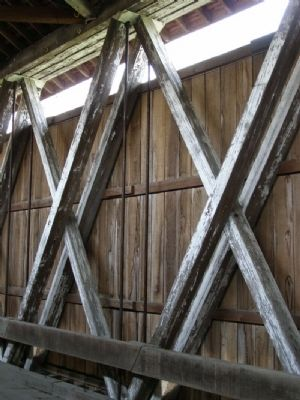 Howe Truss with Steel vertical rods image. Click for full size.