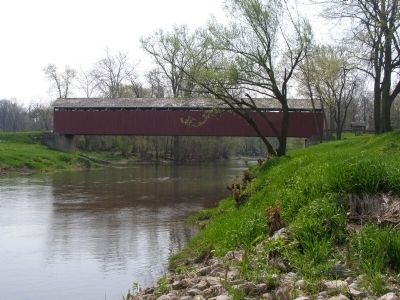 Cumberland Covered Bridge image. Click for full size.