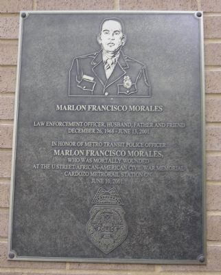 Officer Morales' Marker image. Click for full size.