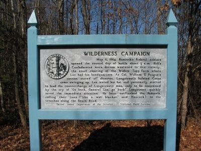 Wilderness Campaign Marker image. Click for full size.