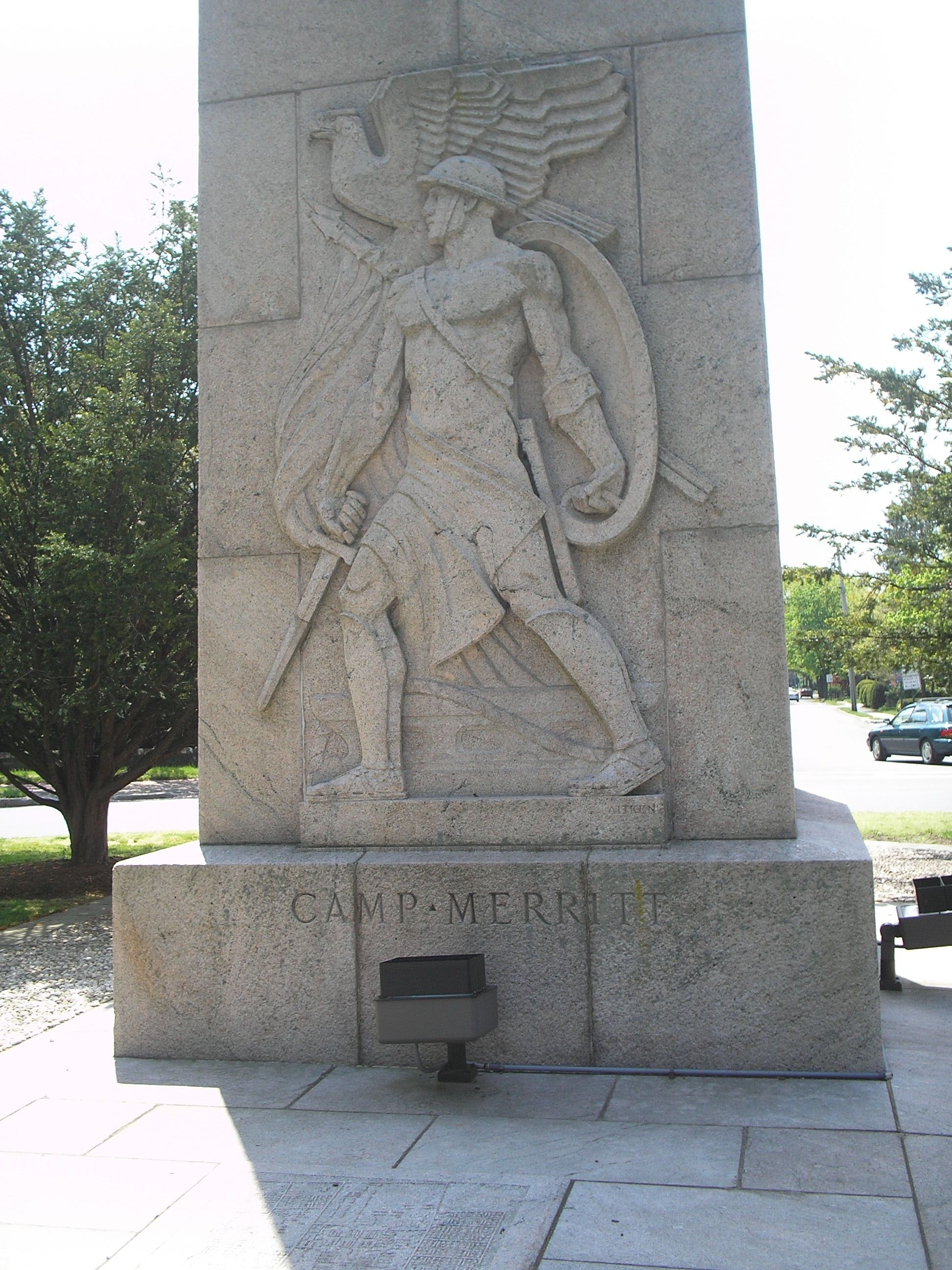 North side of Monument