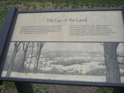 The Lay of the Land Marker image. Click for full size.