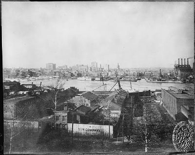 View of Baltimore from Federal Hill image. Click for full size.