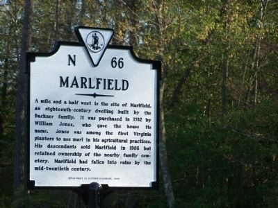 Marlfield Marker image. Click for full size.