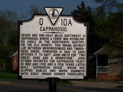 Cappahosic Marker image. Click for full size.