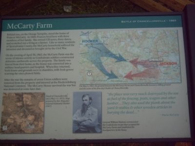 McCarty Farm Marker image. Click for full size.