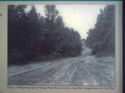 Main picture from the Roads Through the Battlefield Marker image. Click for full size.