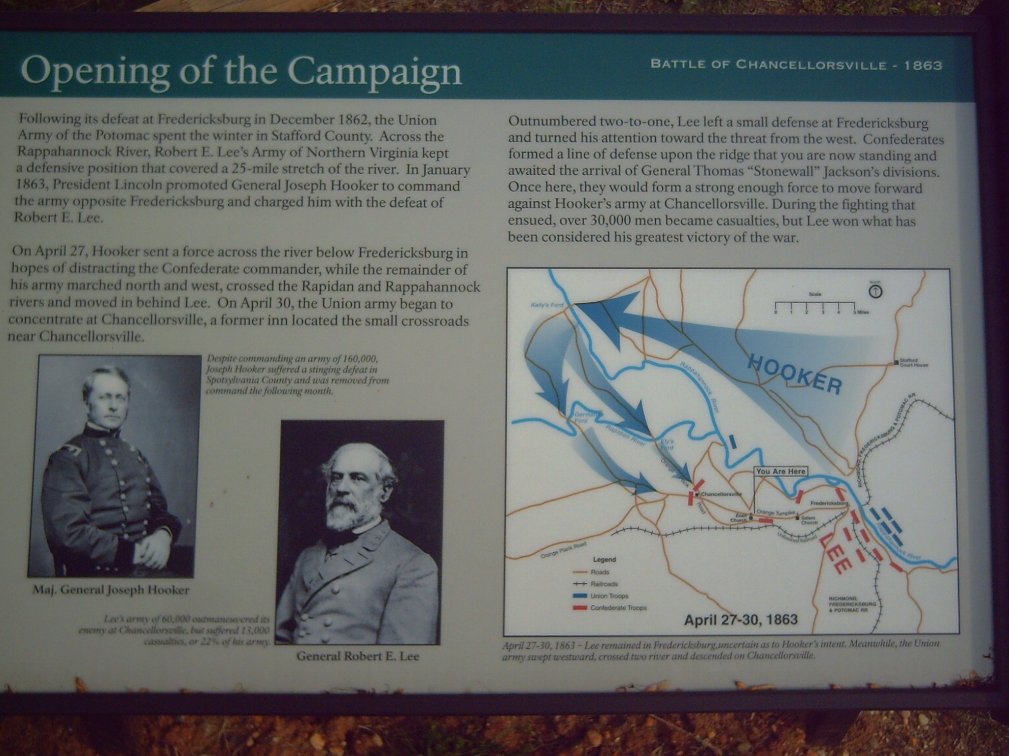 Opening of the Campaign Marker