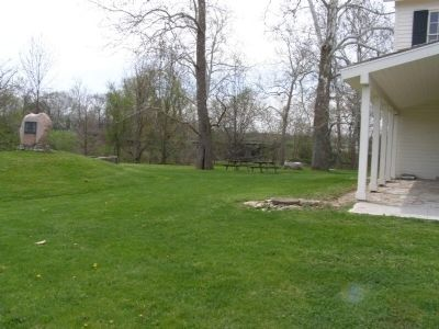 Treaty Grounds in front of Chief Richardville's Home image. Click for full size.