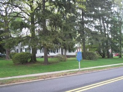 Marker and Van Buskirk-Oakley House image. Click for full size.