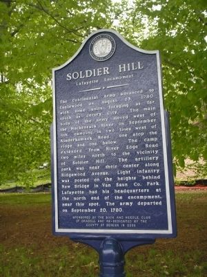 Soldier Hill Marker image. Click for full size.