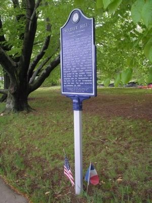Encampment Marker image. Click for full size.
