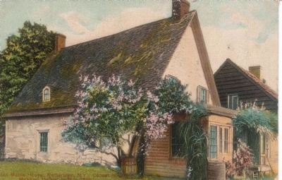 Old Handcolored Postcard of the Mabie House image. Click for full size.