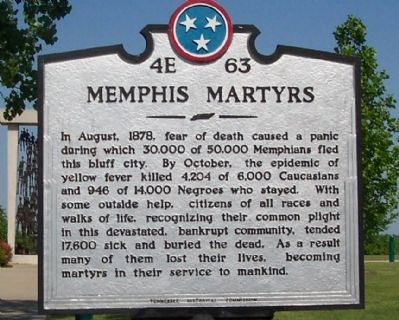Memphis Martyrs Marker image. Click for full size.