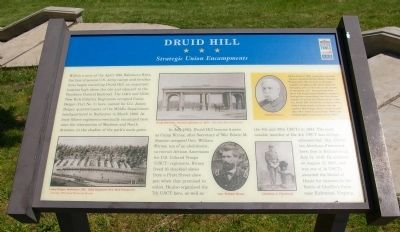 Druid Hill Marker image. Click for full size.