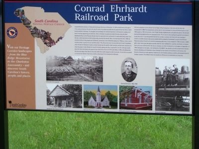 Conrad Ehrhardt Railroad Park Marker image. Click for full size.
