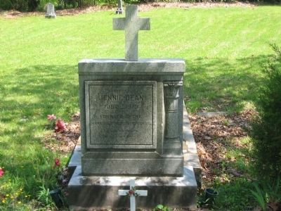Grave of Jennie Dean image. Click for full size.