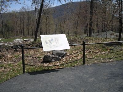 Marker in Fort Montgomery State Historic Site image. Click for full size.