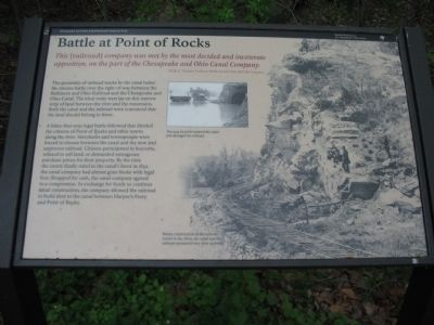 Battle at Point of Rocks Marker image. Click for full size.