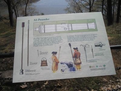 32-Pounder Marker image. Click for full size.