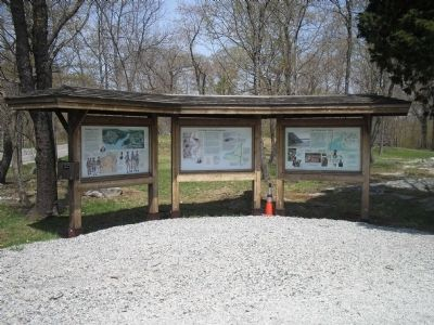 Markers at their original location image. Click for full size.
