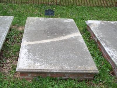 Col. George Corbin's grave image. Click for full size.