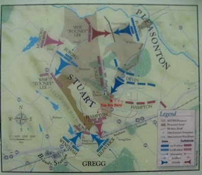 Map of the Battle of Brandy Station image. Click for full size.