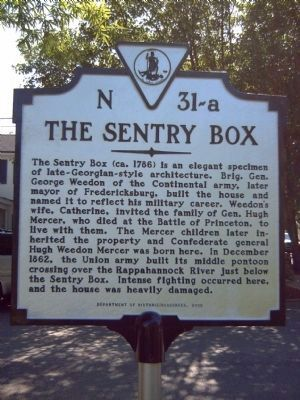 The Sentry Box Marker image. Click for full size.