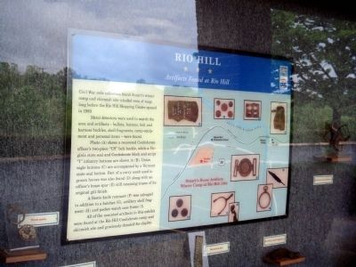 Rio Hill Marker image. Click for full size.