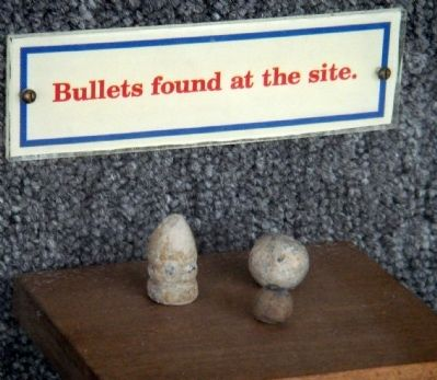 Bullets Found at the Site image. Click for full size.