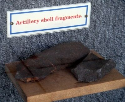 Artillery Shel Fragments image. Click for full size.