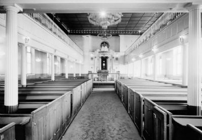 Interior of the Lloyd Street Synagogue image. Click for full size.