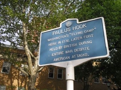 Paulus Hook Marker image. Click for full size.
