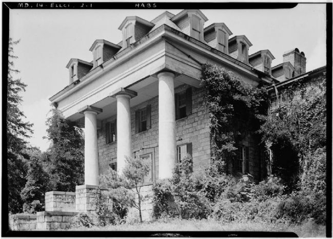 The ruins in 1936 image. Click for full size.