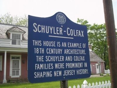 Schuyler – Colfax Marker image. Click for full size.