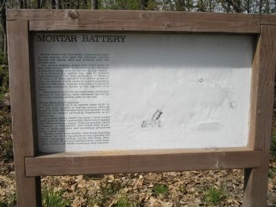 Mortar Battery Marker image. Click for full size.