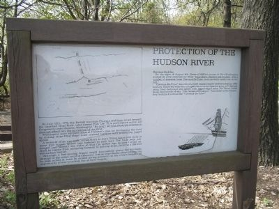 Protection of the Hudson River Marker image. Click for full size.