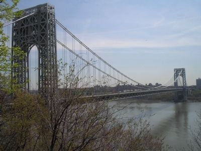 George Washington Bridge image. Click for full size.