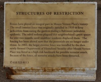 Structures of Restriction Marker image. Click for full size.