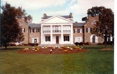 Glenview Mansion before Listed on National Register Plaque was added image. Click for full size.
