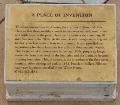 A Place of Invention Marker image. Click for full size.