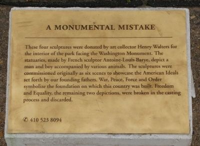 A Monumental Mistake Marker image. Click for full size.